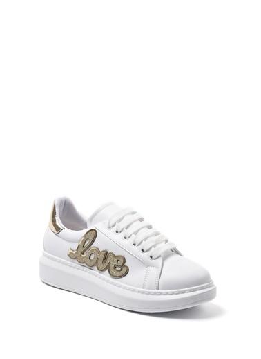 Sapin Sneaker Ayakkabı Altın
